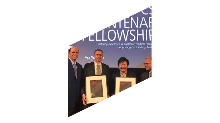 Image of CSL Centenary Fellowships 2018 Recipients